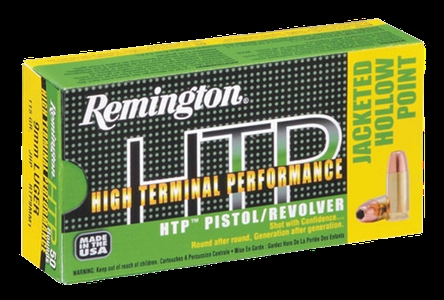 REMINGTON JHP 9MM LUGER 147 GR. SUBSONIC 50PK